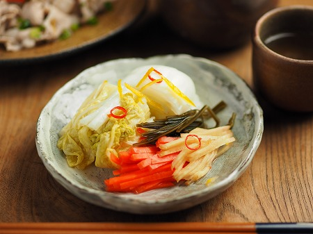 白菜のゆず焼酎漬け005