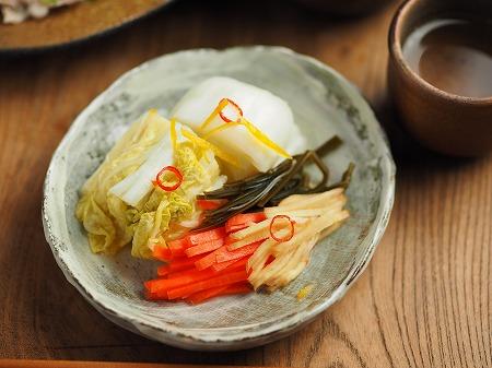 白菜のゆず焼酎漬け009