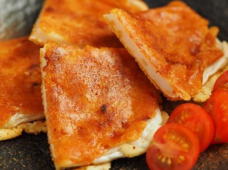 はんぺんのカリカリチーズ焼き018