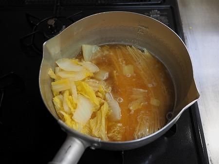 スモークチキン白菜ラーメン036
