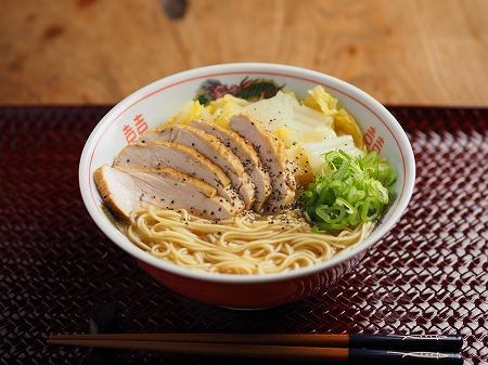 スモークチキン白菜ラーメン005