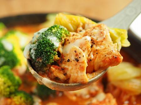鶏むね肉ブロッコリートマト完072