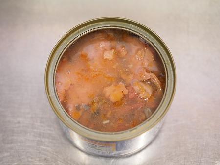 サバ缶と長ねぎのすき焼き風033