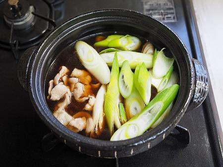 サバ缶と長ねぎのすき焼き風036