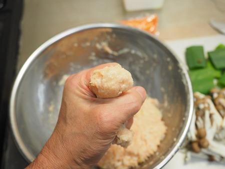 鶏むね肉団子と長ねぎのスー042