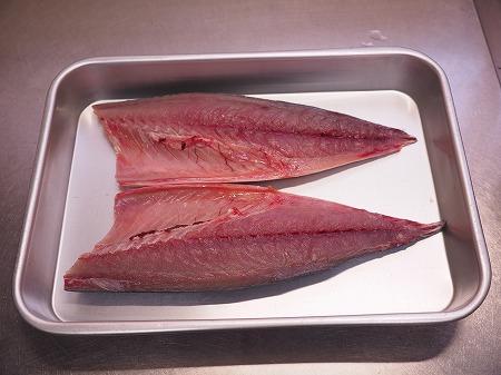 五島鯖の刺身、炙り刺身013