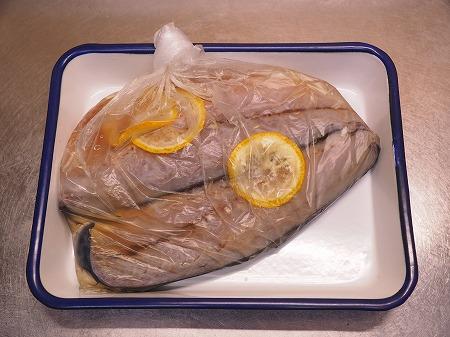 五島鯖の刺身、炙り刺身022
