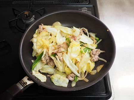 野菜たっぷりインスタント焼きそ024