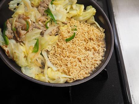 野菜たっぷりインスタント焼きそ029