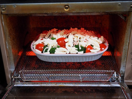 サバ缶とブロッコリーのチーズ焼046