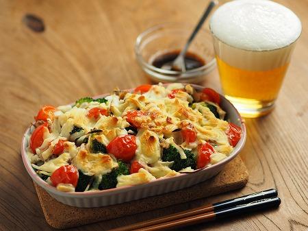 サバ缶とブロッコリーのチーズ焼007