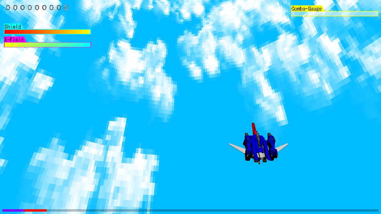 ステージ4:大気圏突破ステージ