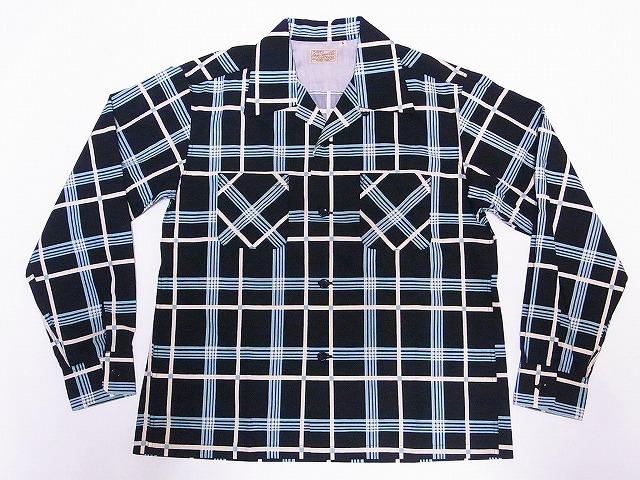 スタイルアイズ STYLE EYES オープンシャツ CHECK PRINT SE28339