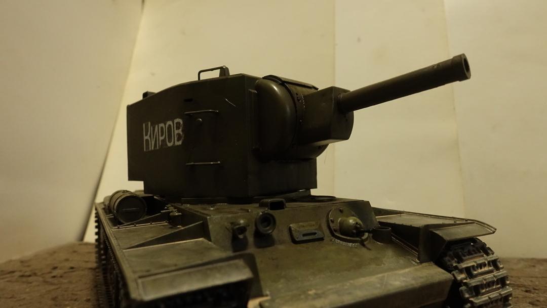 KV-2戦車 プラモの写真