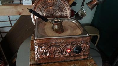 sトルココーヒーの準備