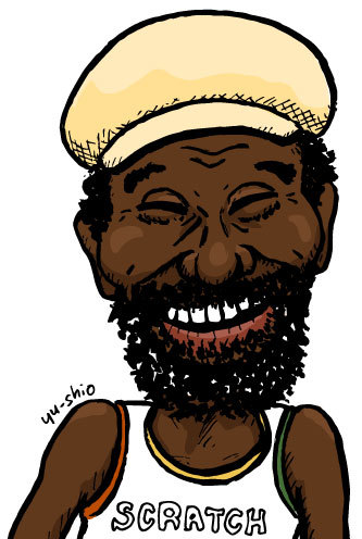 Lee Scratch Perry likeness