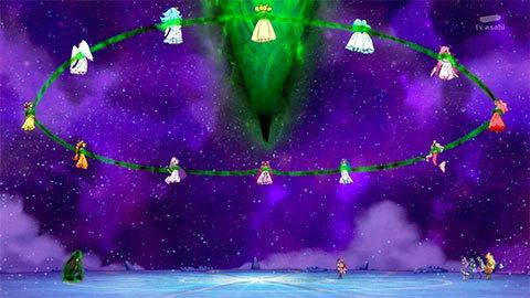【スター☆トゥインクルプリキュア】第47話「フワを救え!消えゆく宇宙と大いなる闇!」14