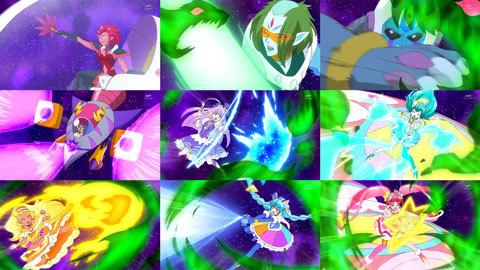 【スター☆トゥインクルプリキュア】第47話「フワを救え!消えゆく宇宙と大いなる闇!」11