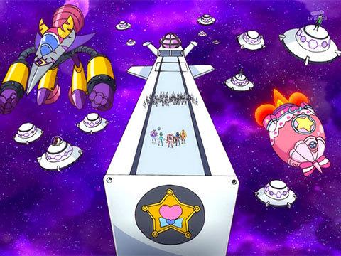 【スター☆トゥインクルプリキュア】第47話「フワを救え!消えゆく宇宙と大いなる闇!」10