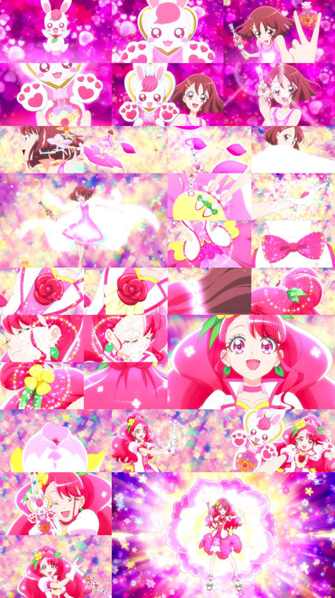 【ヒーリングっど♥プリキュア】第01話「手と手でキュン!二人で変身♥キュアグレース」16