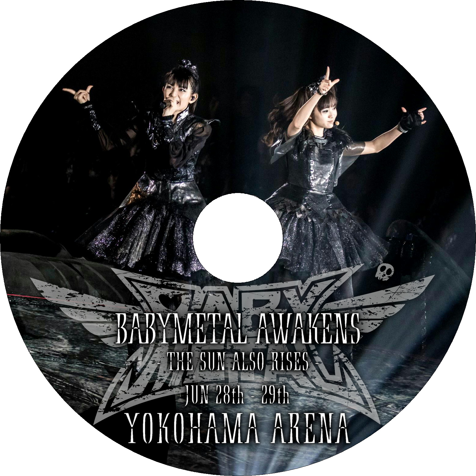 BABYMETAL AWAKENS - THE SUN ALSO RISES - ラベル