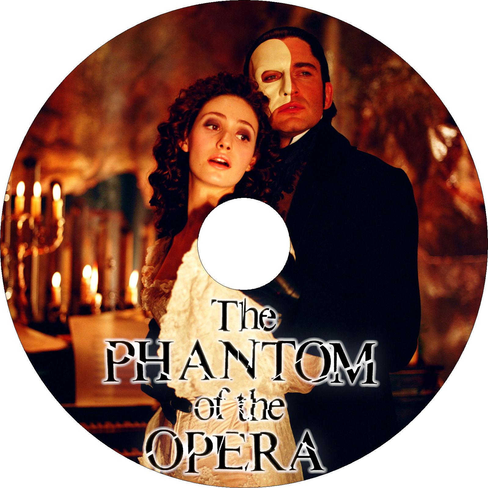 オペラ座の怪人 (2004) ラベル