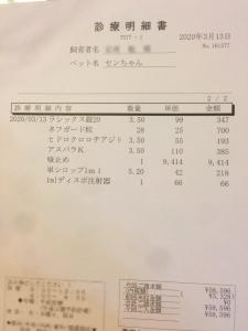 お薬代2 200314