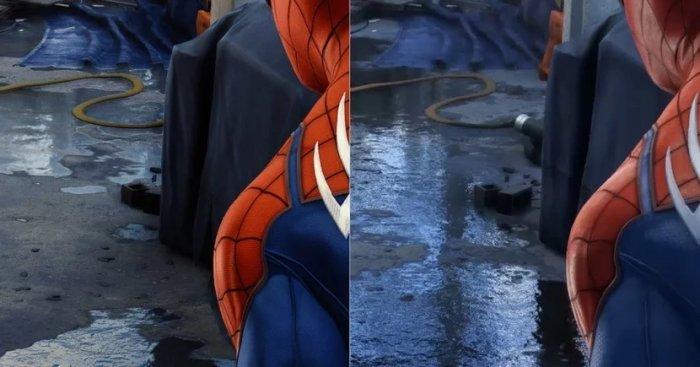 スパイダーマン水溜り問題