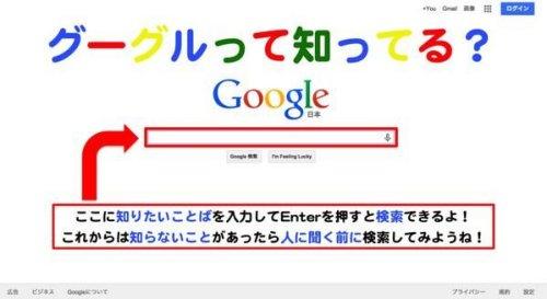 グーグルって知ってる?