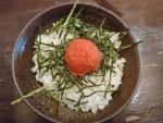 ランチ明太子飯@三田製麺所阿倍野店