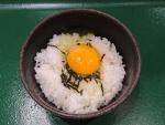 卵海苔ご飯@めりけんや江坂店