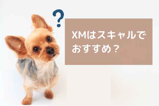 XMはスキャルで おすすめ?-min