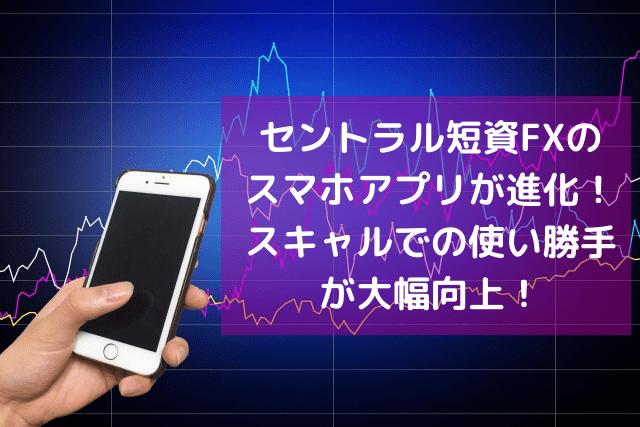 セントラル短資FXの スマホアプリが進化!-min