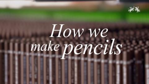 鉛筆ができるまで01
