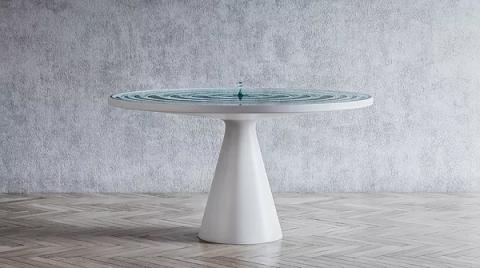 水面のテーブル01
