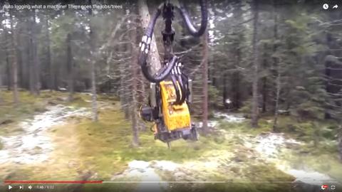 森林伐採マシン04