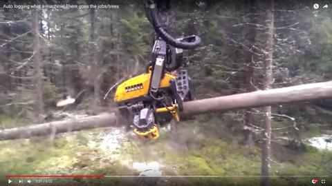 森林伐採マシン05