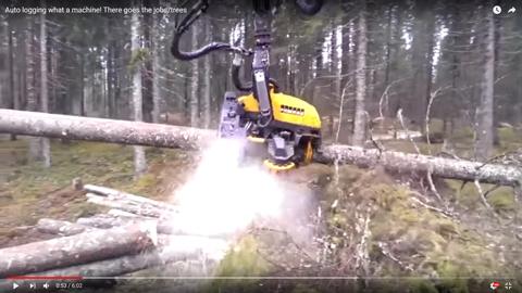 森林伐採マシン06