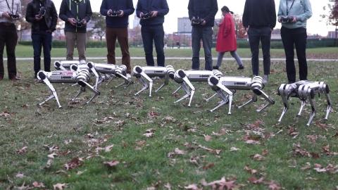 四足歩行ロボット01