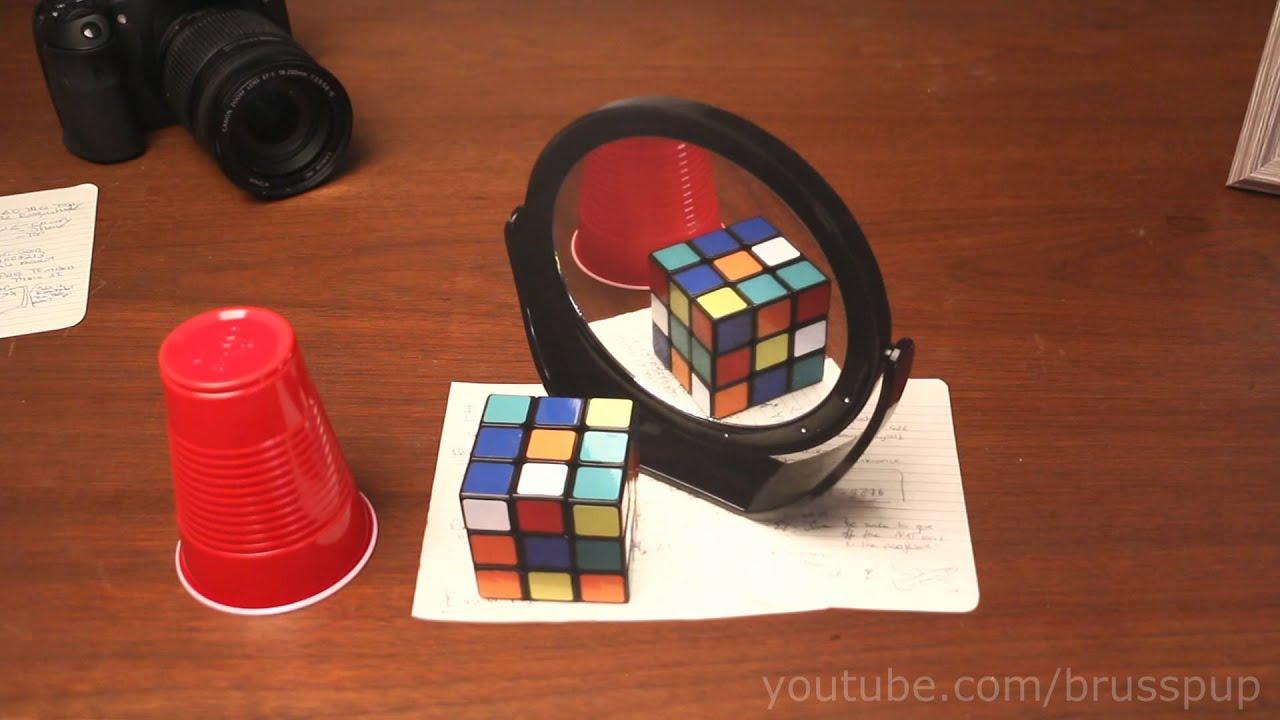 机の上の!小物が立体に見える3Dアートが凄い!!