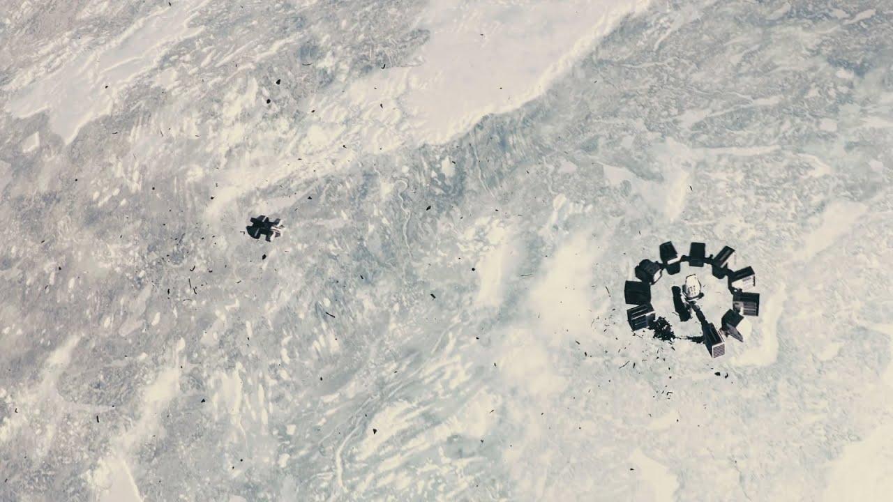 宇宙船と!宇宙ステーションの合体シーンが熱い!!