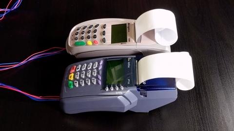 クレジットカード読取機