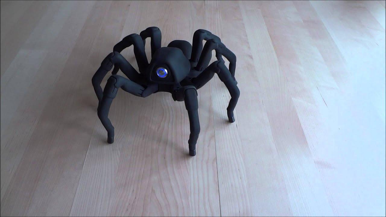 クモ型ロボットが!本物のクモのように動く!!