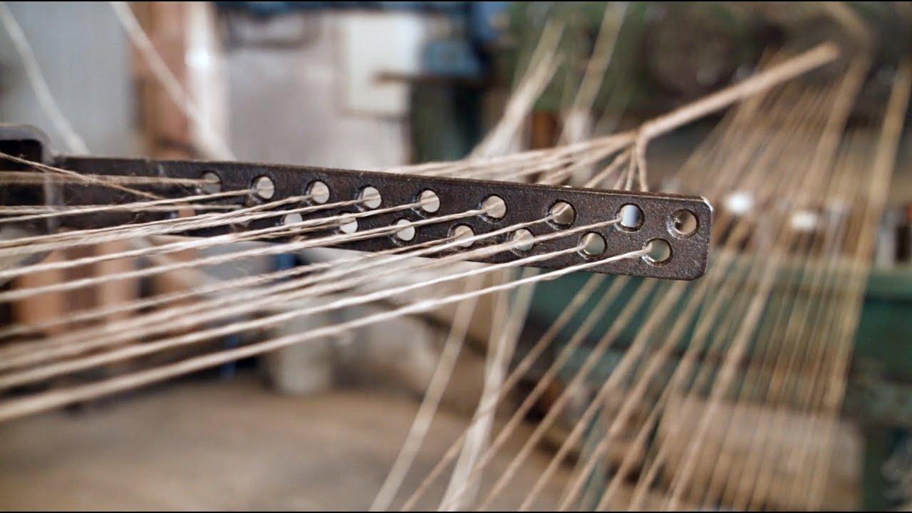伝統的手法で作る!船舶の係留ロープの製作工程が味わい深い!!