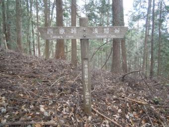 日本山岳耐久レースの尾根道191206