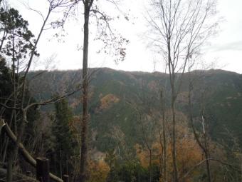 山々のコントラストが美しい191206