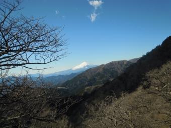 富士見台から富士山200105