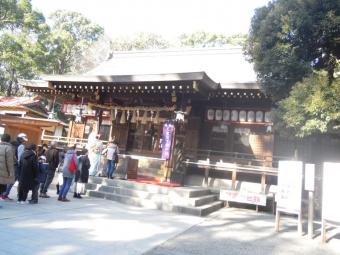 平塚八幡宮本殿200113」