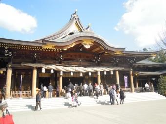 寒川神社本殿200114