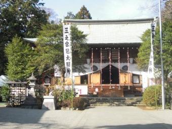 日々多神社本殿